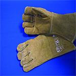 Schutzhandschuhe Leder