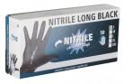 Einmalhandschuhe Nitrile Long Black Gr.S