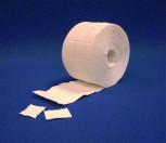 Zellstoff-Tupfer auf Rolle,  5 x 4 cm