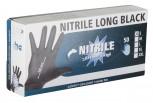 Einmalhandschuhe Nitrile Long Black Gr.L
